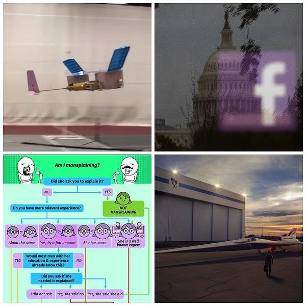 Supersonic Git Mansplains to Facebook